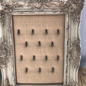 Framed jewelry board